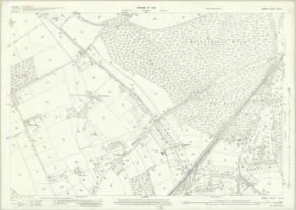 Surrey XXIV.4 (includes: East Horsley; Ockham; West Horsley) - 25 Inch Map