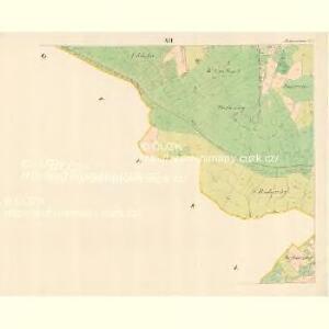 Alt Hrosenkau (Stary Hrasenkow) - m2868-1-011 - Kaiserpflichtexemplar der Landkarten des stabilen Katasters