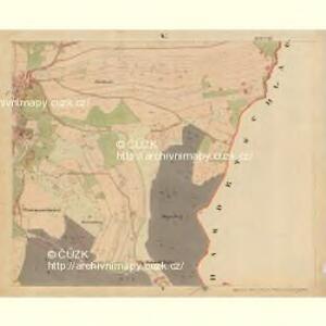 Beneschau - c0113-2-005 - Kaiserpflichtexemplar der Landkarten des stabilen Katasters