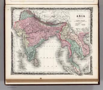 Asia (Southern sheet).