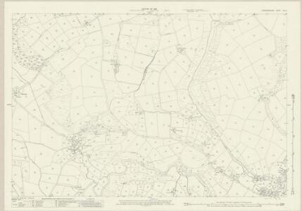Caernarvonshire XLV.5 (includes: Llanengan) - 25 Inch Map
