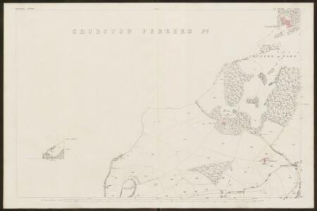 Devon CXXVIII.5 (inset CXXVIII.1) (includes: Brixham; Churston Ferrers; Stoke Gabriel) - 25 Inch Map