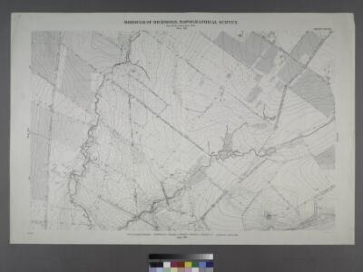 Sheet No. 53. [Includes Richmond Hill Road, Forest Hill Road, Old Stone Road and Mill Road.]; Borough of Richmond, Topographical Survey.