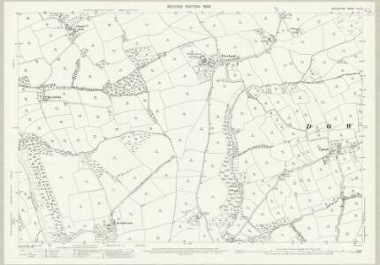 Devon XLI.15 (includes: Dolton; Dowland; Iddesleigh; Meeth) - 25 Inch Map