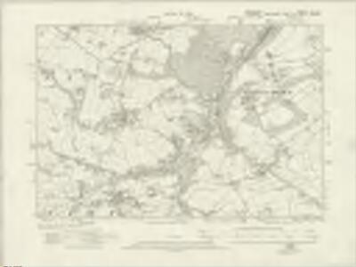 Derbyshire XI.SE - OS Six-Inch Map