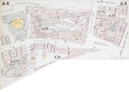 Insurance Plan of London Western District Vol. A: sheet 6-1