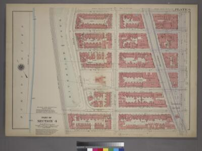 Plate 6, Part of Section 4: [Bounded by W. 77th Street, Amsterdam Avenue, W. 71st Street and (Riverside Park) Riverside Drive.]