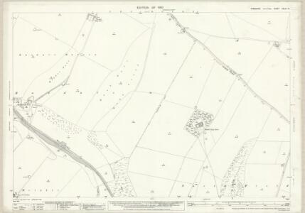 Yorkshire CXLIII.14 (includes: Fimber; Wharram) - 25 Inch Map