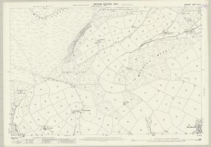 Somerset XLVI.3 (includes: Cutcombe; Timberscombe; Wootton Courtenay) - 25 Inch Map