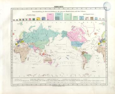 Atlas für Handel und Industrie: Für Kaufleute, Fabrikante u. Gewerbetreibende, Handlungs- u. Gewerbe-Schulen
