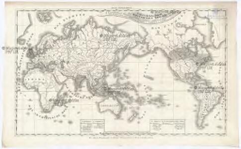 Uebersichtskarte des Britischen Reichs