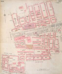 Insurance Plan of London Vol. XI: sheet 304