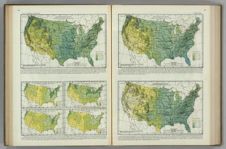 Monthly (May, June, July) Precipitation.  Atlas of American Agriculture.