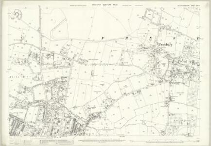 Gloucestershire XXVI.4 (includes: Cheltenham; Prestbury) - 25 Inch Map