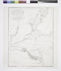 A chart of New York Harbour: with the banks, soundings and sailing marks from the most accurate surveys & observations.