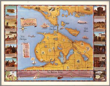 Historic Michilimackinac : the Straits of Mackinac area ... Michigan