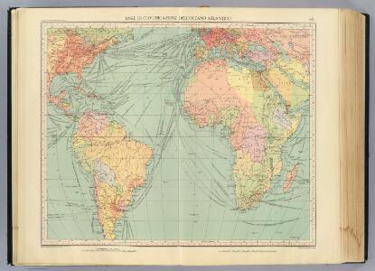 4-5. Linee di comunicazione, Oceano Atlantico.