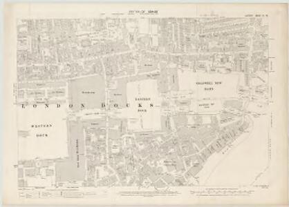 London VII.78 - OS London Town Plan