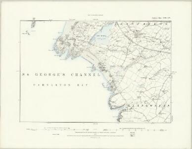 Anglesey XVI.NE - OS Six-Inch Map