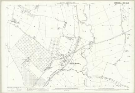 Warwickshire XLIII.13 (includes: Bidford on Avon; Cleeve Priors; Salford Priors) - 25 Inch Map