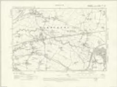 Cheshire XVII.NE - OS Six-Inch Map