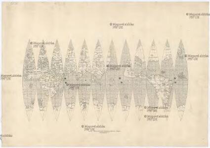 Beschreibung der Globuskarte des Giovanni Verrazano vom Jahre 1530