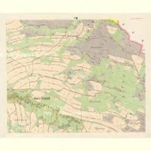 Gross Nixdorf - c4628-1-008 - Kaiserpflichtexemplar der Landkarten des stabilen Katasters