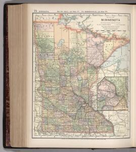 Map of Minnesota. 75