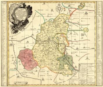 Accurate Geographische Delineation derer Aemmter Wittenberg und Graeffenhaynischen zur Chur Sachsen gehörig, und in Chur Creiß gelegen