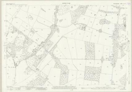 Staffordshire XL.13 (includes: Dunstall; Tatenhill; Yoxall) - 25 Inch Map