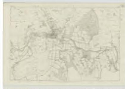 Peebles-shire, Sheet XIII - OS 6 Inch map