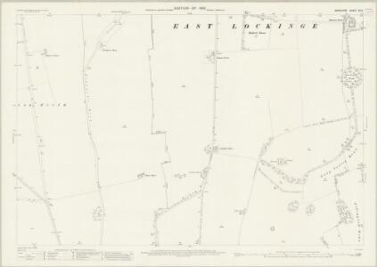 Berkshire XX.3 (includes: Ardington; Lockinge) - 25 Inch Map