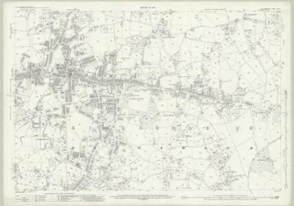 Gloucestershire LXXII.15 (includes: Bristol; Kingswood; Oldland; Siston) - 25 Inch Map