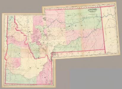 Composite: Montana, Idaho.