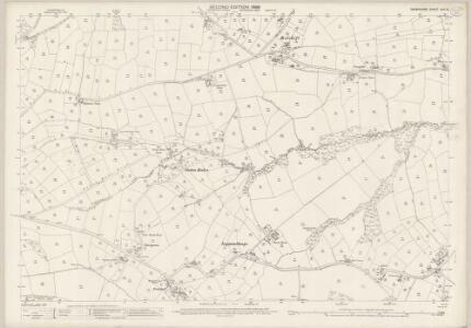 Derbyshire XVII.16 (includes: Barlow; Brampton) - 25 Inch Map