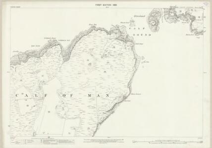 Isle of Man XVIII.3 - 25 Inch Map