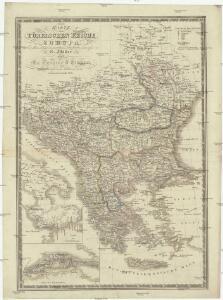 Karte vom Türkischen Reiche in Europa nebst den angrenzenden Ländern