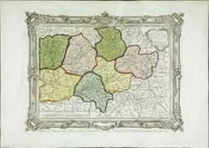 Carte des départemens de la Mayenne, de la Sarte, d'Eure et Loire