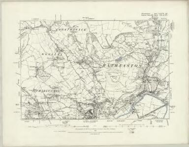 Gloucestershire LXXI.SE - OS Six-Inch Map