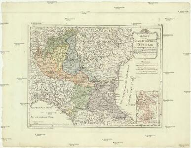 Karte von der Cisalpinischen Republik