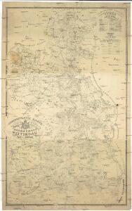 Administrativ Karte der Hochfürstlich Schwarzenberg'schen Herrschaften Wittingau