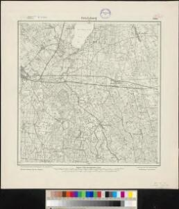 Meßtischblatt 1096 : Ortelsburg, 1915