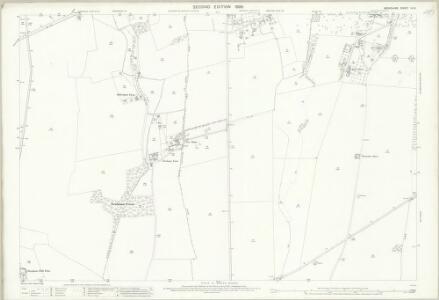 Berkshire IX.6 (includes: Draycot Moor; Fyfield; Kingston Bagpuize; Longworth) - 25 Inch Map