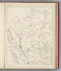 Facsimile:  Devine's Northwest Part of Canada (portion).