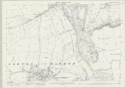 Somerset LXXXII.14 (includes: Montacute; Norton Sub Hamdon; Stoke Sub Hamdon) - 25 Inch Map