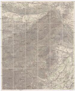 Karte des Wienerwaldes