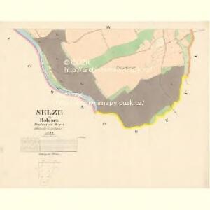 Selze - c6766-1-009 - Kaiserpflichtexemplar der Landkarten des stabilen Katasters