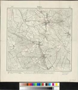 Meßtischblatt 2038 : Golzow, 1917
