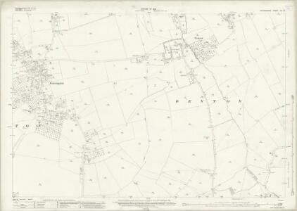 Oxfordshire XL.10 (includes: Cuddesdon; Denton; Garsington; Little Milton) - 25 Inch Map