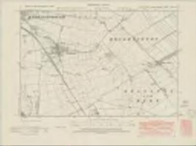 Lincolnshire LXXI.SW - OS Six-Inch Map
